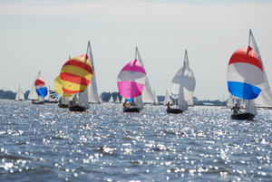 Sailing is a popular student activity in Holland